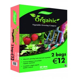 Tippland Organic Vegetable Growing Compost 60ltr