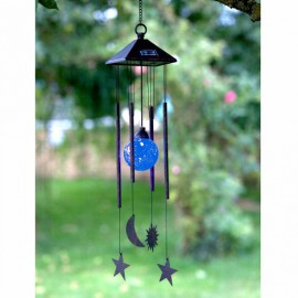 Sun Moon And Star Wind Chime